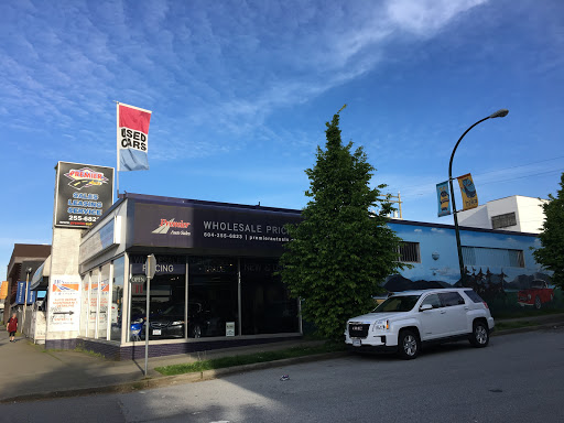 Premier Auto Sales & Leasing Ltd, 1606 E Hastings St, Vancouver, BC V5L 1S6, Canada, Car Dealer, state British Columbia