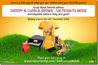 MBO The Peanuts Movie Charlie Brown and Snoopy Bidding Campaign