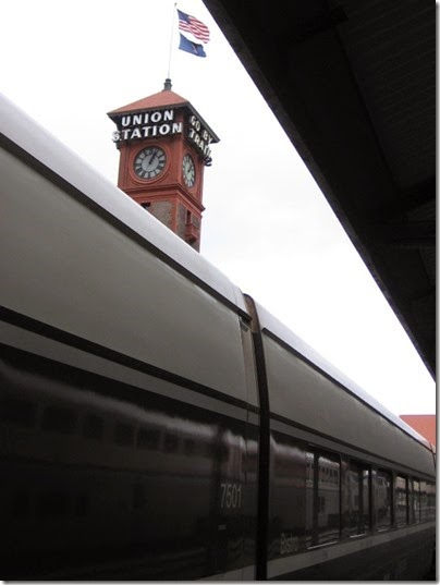 IMG_0715 Clock Tower at Union Station in Portland, Oregon on May 10, 2008