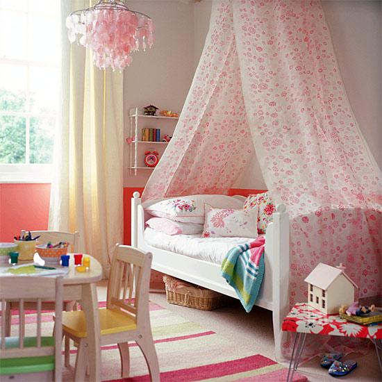 17 märchenhafte schlafzimmer ideen für kleine prinzessinen - Madchen Kinderzimmer Dekoration