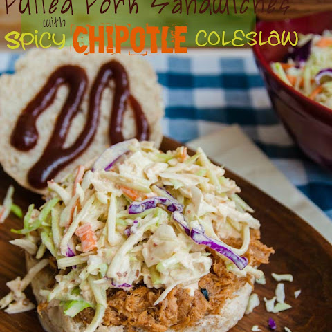 Slow Cooked Pulled Pork with Chipotle Coleslaw