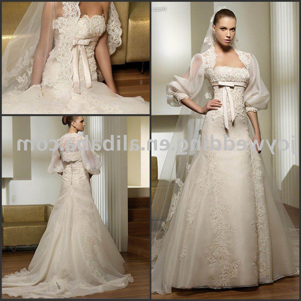 See larger image: Popular new white ivory lady wedding gown W1669