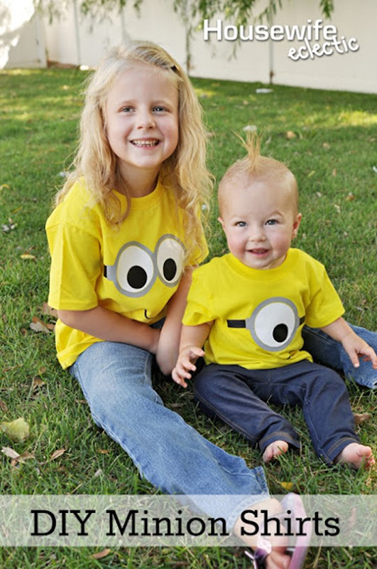 DIY Minion Shirts 1