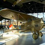 World War I plane in Soest, Utrecht, Netherlands