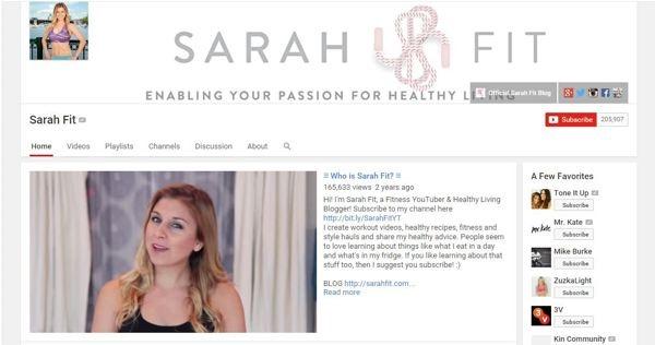 sarah fitness