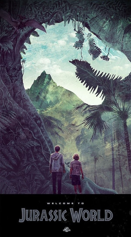 Jurassic World Poster by Janee Meadows