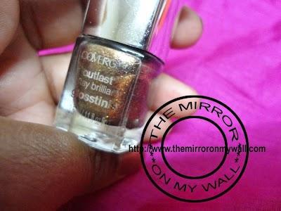 CoverGirl OutLast Stat Brilliant GlossTinis in Seared Bronze 6309.JPG