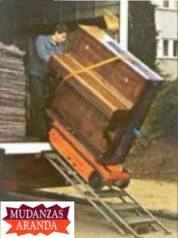transporte pianos aranda de duero