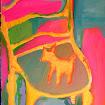 """""""Skip Mark Chair"""" Acrylic"""
