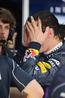 Марк Уэббер и Гэвин Уорд на Гран-при Бахрейна 2013