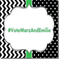 #VoteMarzAndEmilie