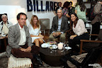 Luis Parenti, Verónica Padilla, Dicky Preve y Carina Matteo. Gentileza: Mirabaires