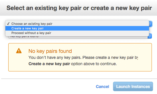 Create key .pem file