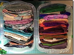 Sue Reno, 52 Ways to Look at the River, WIP 3