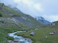 Hoch zum Col du Galibier (2645 m), Nordrampe.