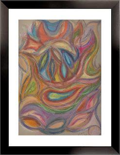 Life: Mask (oil pastels, 1998)
