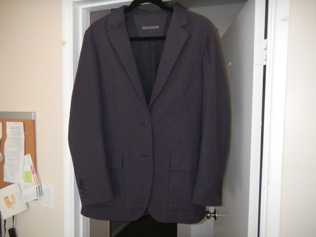 Line Navy Purple Blazer