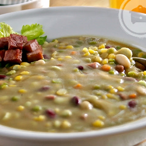 Slow Cooker Louisiana Bean Soup