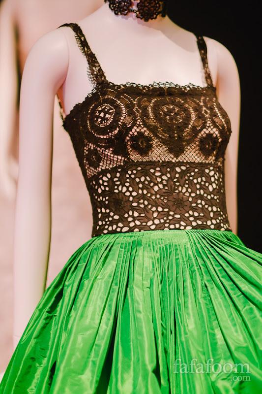 Details of Oscar de la Renta, Evening dress, Spring 2012.