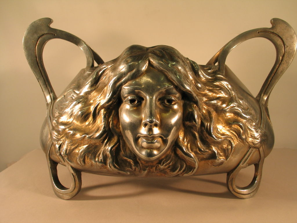 French Art Nouveau Centerpiece
