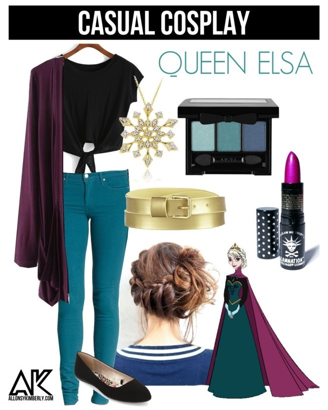 Casual Cosplay: Elsa (Coronation Gown) | allonsykimberly.com