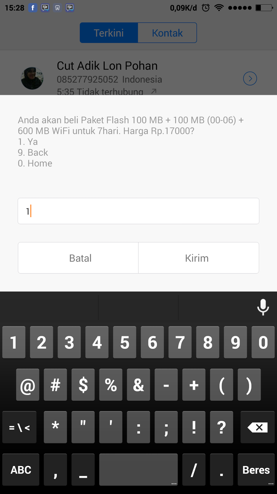 ... 800mb - Hp Android dan Paket Internet - Hp Android dan Paket Internet