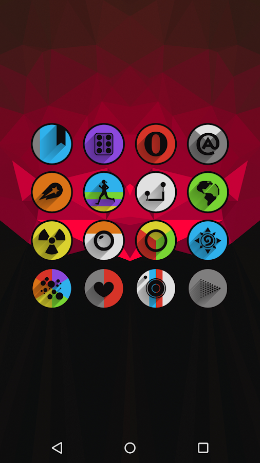 Umbra - Icon Pack Screenshot 2