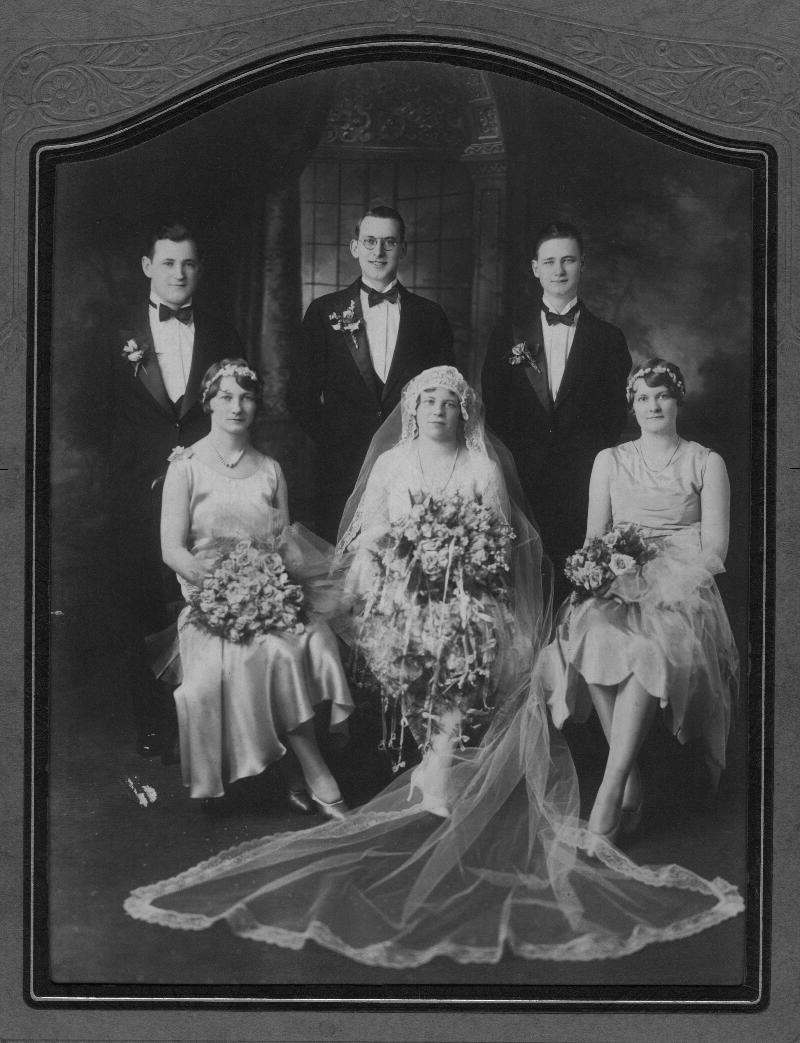 Wedding portrait for Lawrence