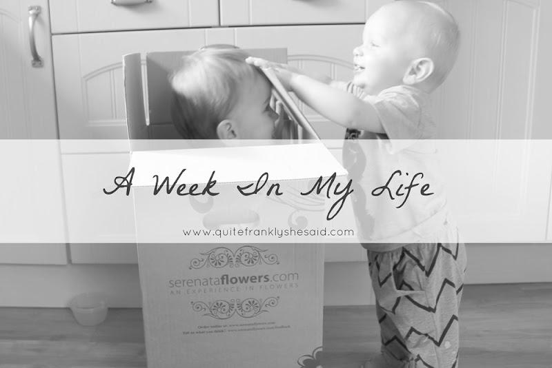 week in my life