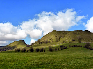 Chrome Hill And Parkhouse Hill From Glutton