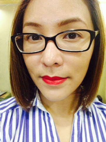 FS Cosmetics Luscious Lipstick in Primrose