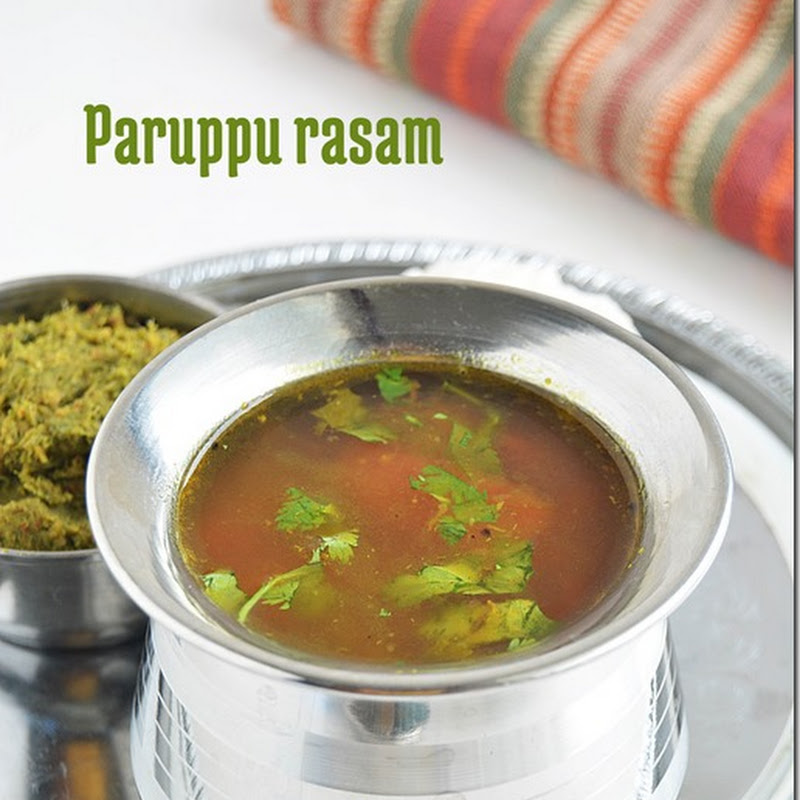 Paruppu rasam (version 2)