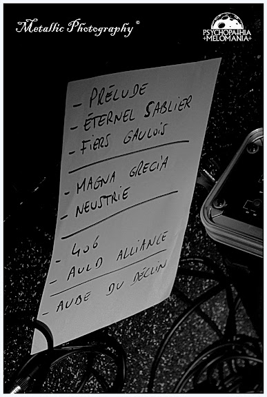Set-list Neptrecus @Paris Poppins, Paris 27/01/2013
