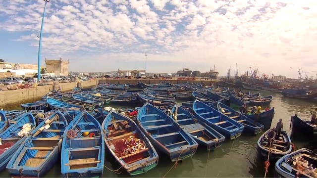 morocco essaouira fishermen boats