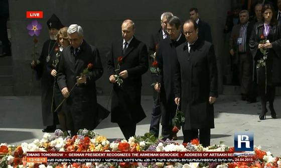 imatge de la commemoracion del genocidi dels Armenians 5