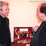 Thomas Kirchhoff con el guitarrista Francisco Ortiz
