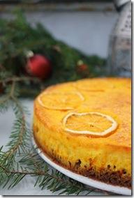 Saffranscheesecake med smak av apelsin