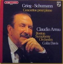 Grieg Concierto Piano Arrau Davis