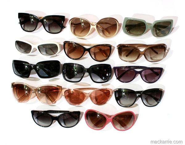 Sonnenbrillensammlung2015