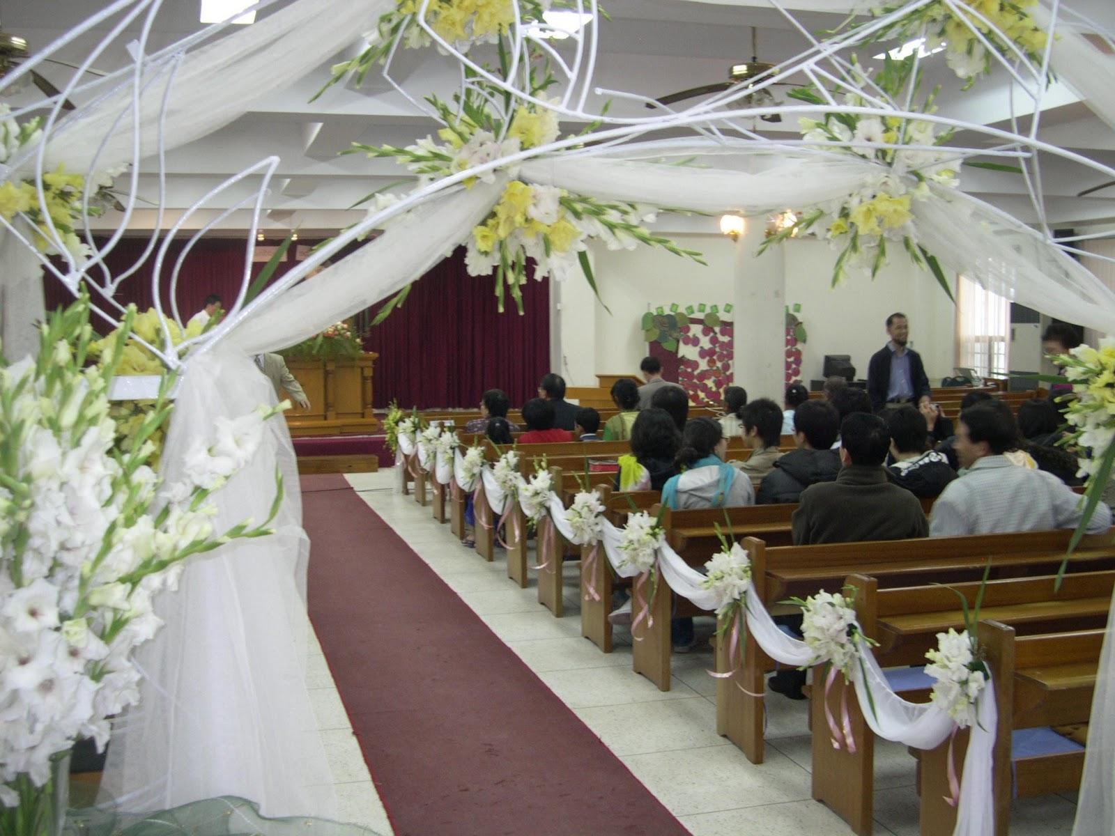 Sample Wedding Decoration Church: Church decorations wedding ...