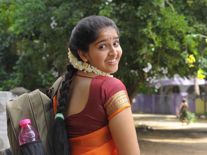 Actress Sanusha school age