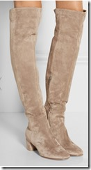 Gianvinto Rossi suede over the knee boot - other colours