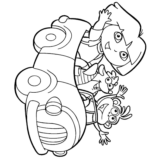 Free Online Coloring Pages TheColor - childrens coloring pages to print