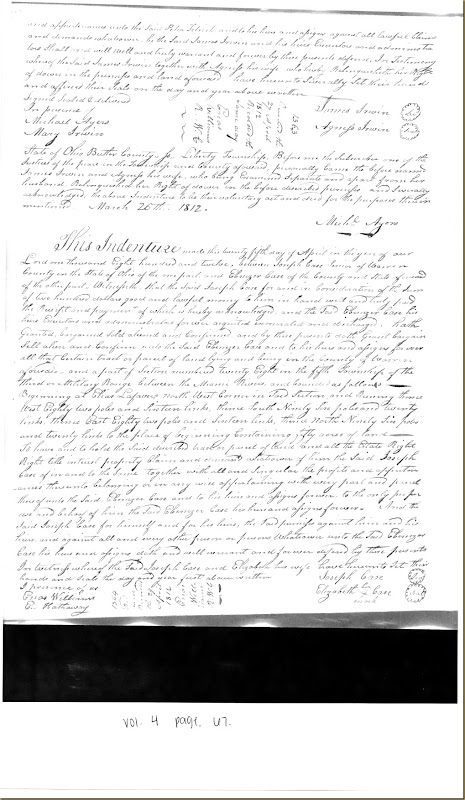 James Irwin of Butler Co to Peter Tetrick 11 October 1811_0002