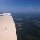 Our flight home from Branson MO to Monticello IL 08292012-01
