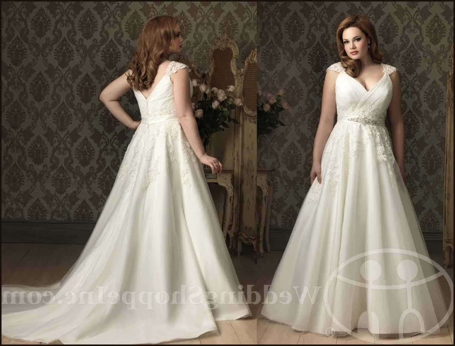 plus size bridal gowns Allure