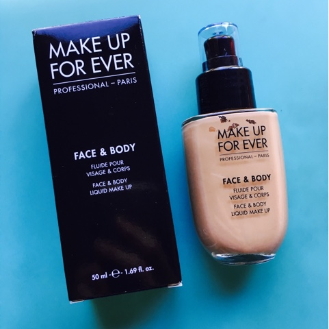 Makeup forever face and body foundation