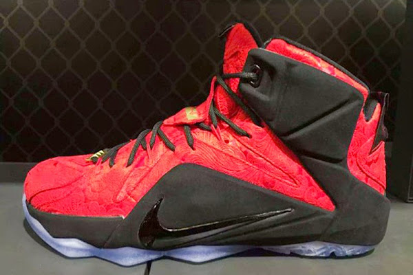 Nike Sportswear8217s 8220Red Paisley8221 LeBron 12 EXT Unveiled