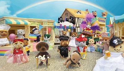 MICE-IS attack Sylvanian gay pride
