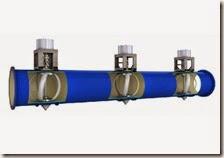 LucidPipe's lift-based turbine